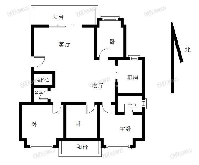 爱情海万达,江南水都丽岛 精装四房,通透户型 满五年唯一