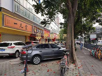 仙岳路沿街 大开间240平店面招租 无转让费