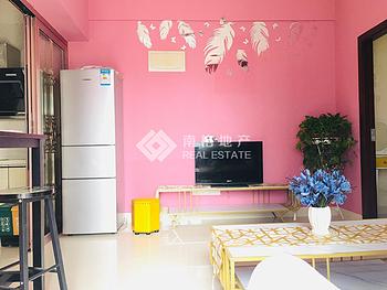 整租!罗宾森璀璨新城二期 2室1厅1卫 网红风格 2面采光!
