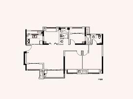 洋房A2 建筑面积约129㎡--户型图