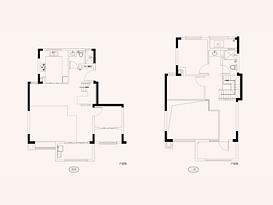 观澜A1 建筑面积约155㎡--户型图