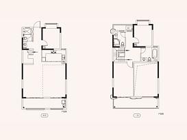 汀澜A1 建筑面积约151㎡--户型图