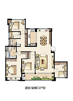 C1 186平 五室两厅两卫--户型图