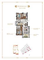洋房88平--户型图