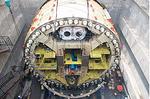 厦地铁2号线穿海隧道主体完工 国内首条海底盾构地铁隧道
