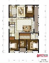 4房2厅2卫168平--户型图