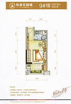 户型图 单身公寓30平--户型图
